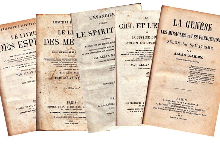 Janeiro marca o lançamento de muitas obras da Codificação Espírita