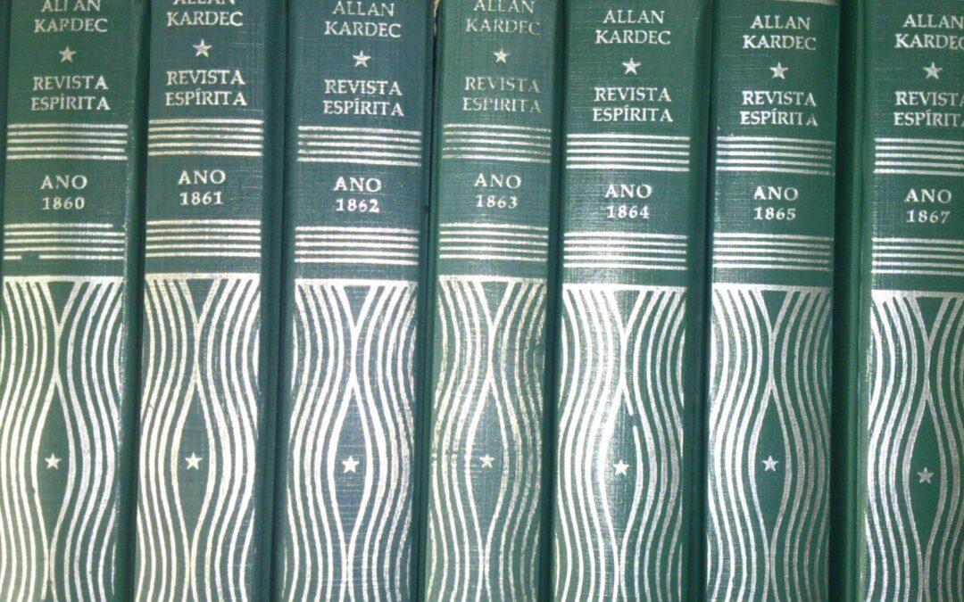 Revista Espírita, publicada por Allan Kardec de 1858 a 1869